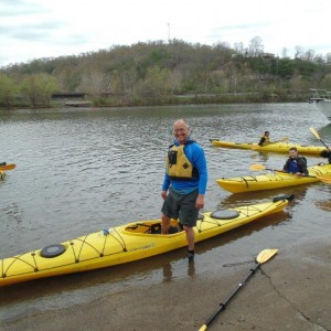 steve selin happy kayaker