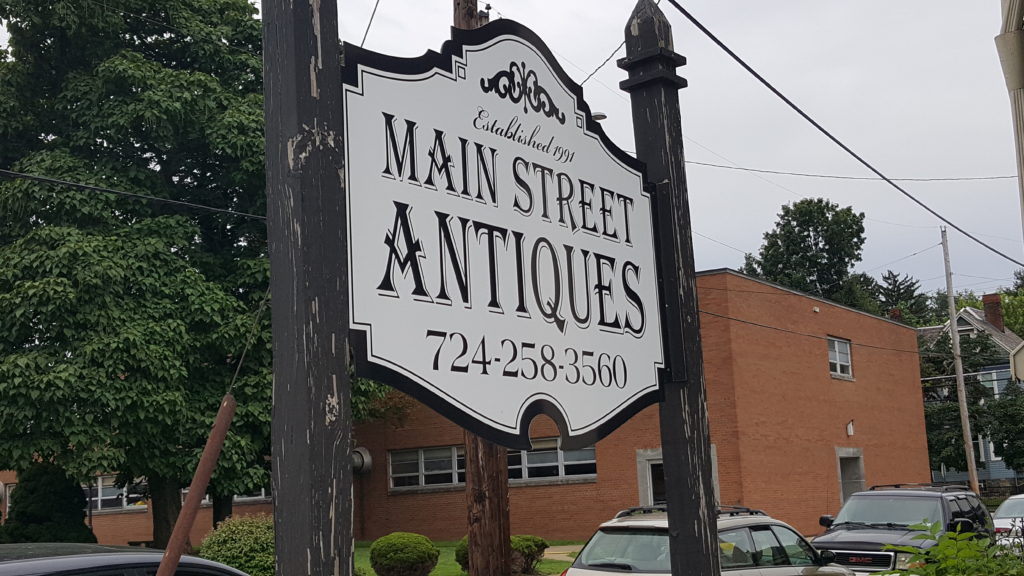 Main Street Antiques in Monongahela