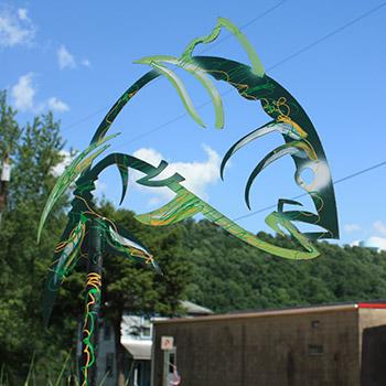 Frederick Town Art Fish Installation