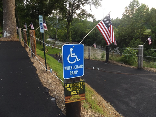 Marianna Wheelchair Accessible Boat Ramp