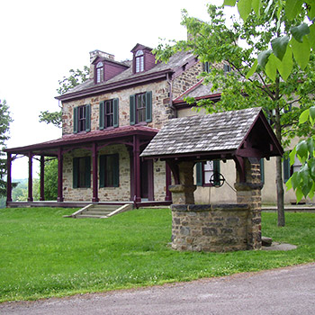 Gallatin House in Point Marion