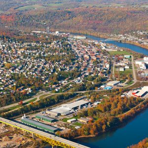Donora PA Mon River Town